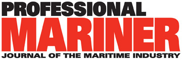 Professional Mariner logo in red